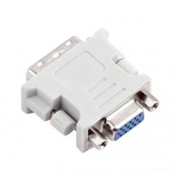 Adaptateur Convertisseur DVI-I Mâle vers VGA 15 Pins Femelle CM