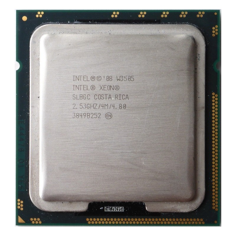 Intel Xeon W3505