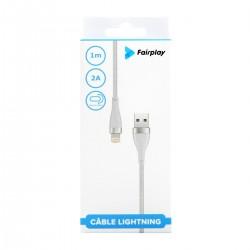 Câble Lightning (Blanc ou Noir)