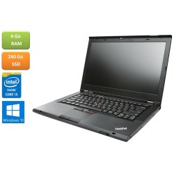 Ordinateur portable IBM Lenovo T430 intel core I5 - 4GO - SSD 240 Go