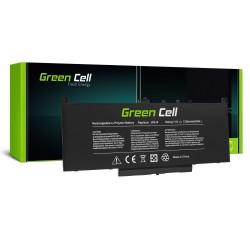 Batterie green pourDell Latitude E7270 E7470 5800mAh