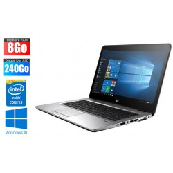 Ordinateur portable HP EliteBook 840 G3 | i5 - 6300U | 8Go RAM | 240Go SSD