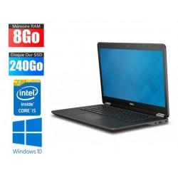 Ordinateur portable DELL Latitude E7450 | i5 | 4Go RAM | 240Go SSD