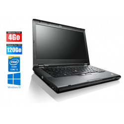 Ordinateur portable IBM Lenovo T430 intel core I5 - 4GO - SSD 120 Go