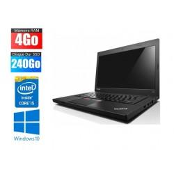 Ordinateur Portable Lenovo ThinkPad L450 | i5 - 5300U | 4Go RAM | 240Go SSD