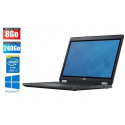 Ordinateur Portable DELL Precision 3510 | i7-6700 | 8Go RAM | SSD 240Go