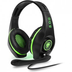Spirit Of Gamer casque pro-XH5 vert